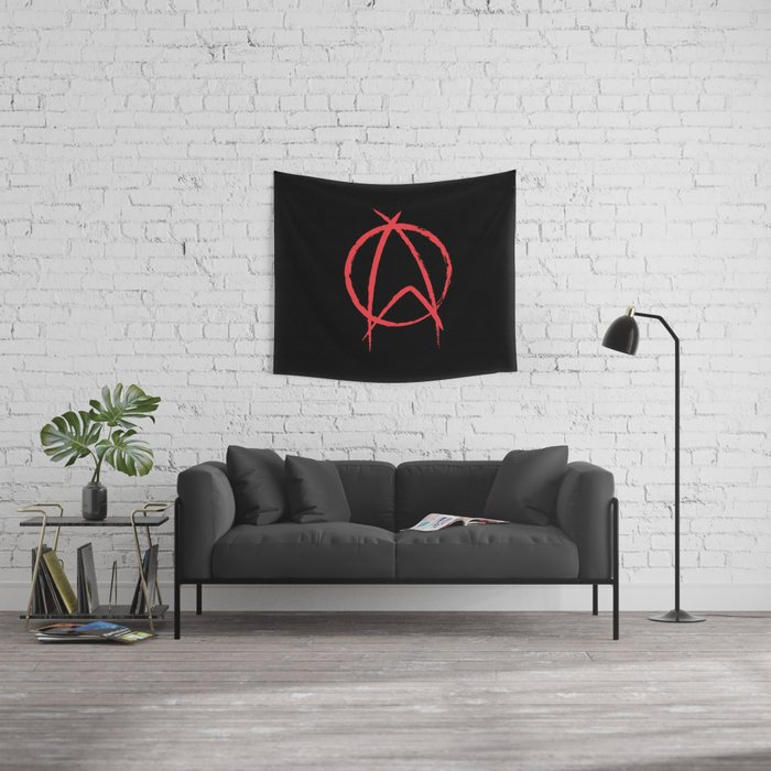 Federation Anarchy Wall Tapestry
