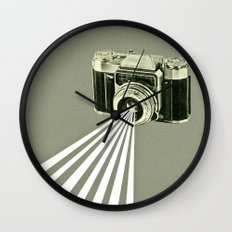 Depth of Field Wall Clock