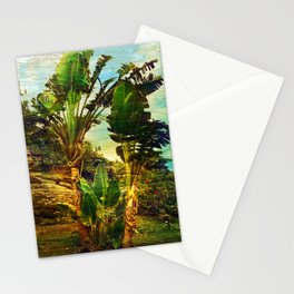 Traveller's Palm On Pic Pardis in Saint Martin Stationery Cards