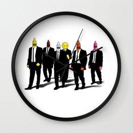 Reservoir Crayons Wall Clock