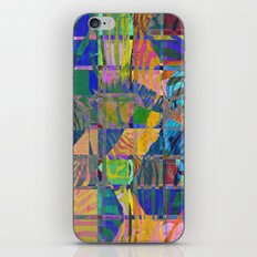Colorful Zebras iPhone & iPod Skin