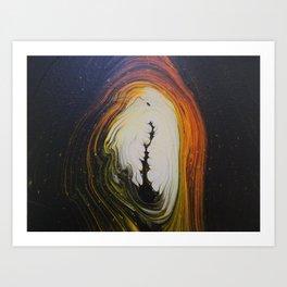 Dark Portal 01 Art Print
