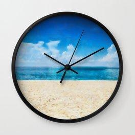 Daytona Beach Wall Clock