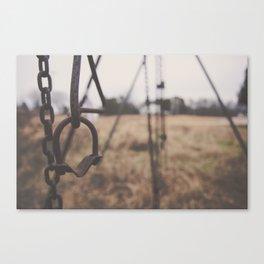 Swing Set (Matte) Canvas Print
