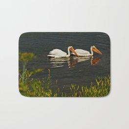 Pelicans in Edmonton - Hermitage Bath Mat