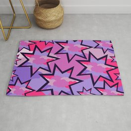 Stars in the clouds Rug