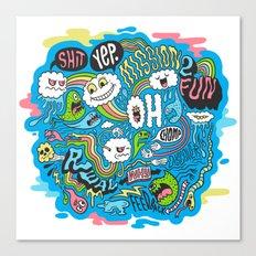 2Fun Canvas Print
