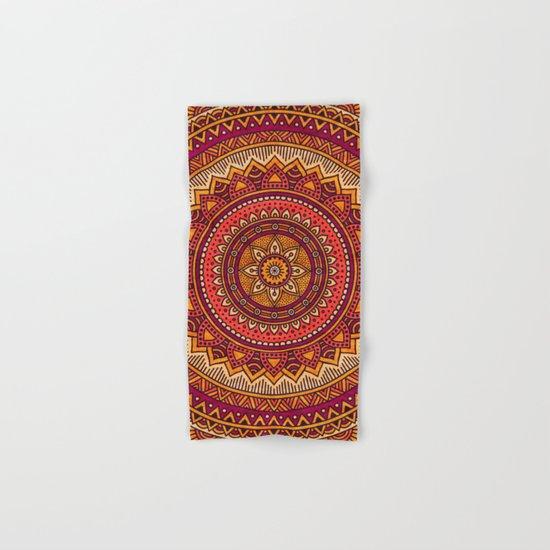 Hippie mandala 33 Hand & Bath Towel