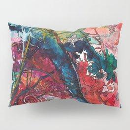 Swirls and Splatters Pillow Sham