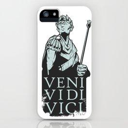 Veni Vidi Vici Julius Caesar Roman iPhone Case