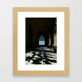 Catedral de Santa Maria de la Seu Vella Framed Art Print
