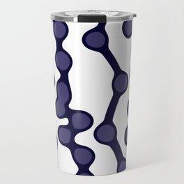 NAVY PEARLS Travel Mug