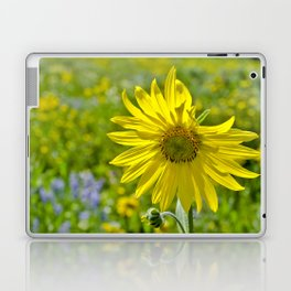 Wild sunflower Laptop & iPad Skin