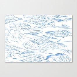 MicroWave Goodbye Canvas Print