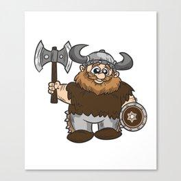 Impatient Viking Berserk Canvas Print