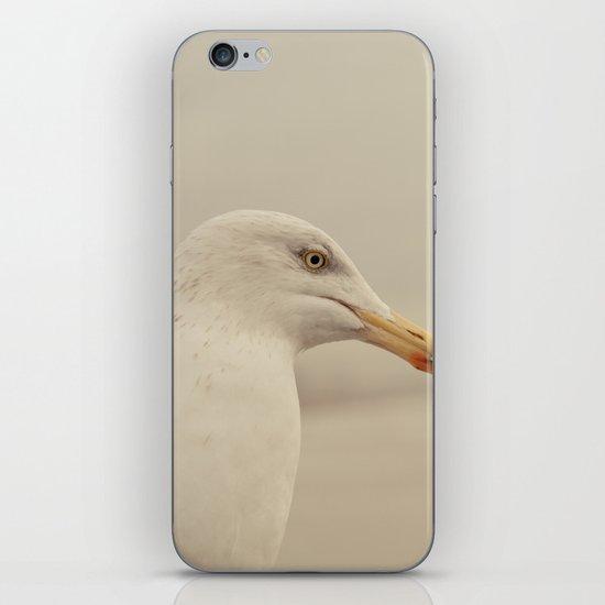 Portrait of a Bird iPhone & iPod Skin