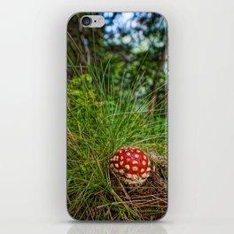 Fliegenpilz iPhone Skin