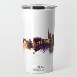 Berlin Germany Skyline Travel Mug
