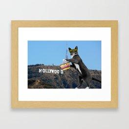 Ray in Hollywood Framed Art Print