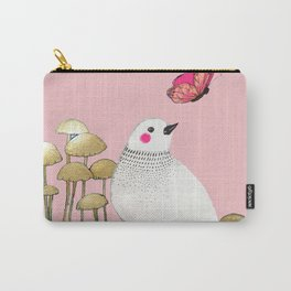 pink wall Carry-All Pouch