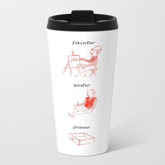 Drawer Metal Travel Mug