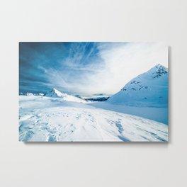 White Mountain 3 Metal Print
