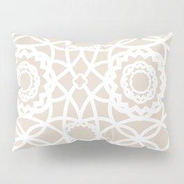 Palm Springs Macrame Lattice Lace Pillow Sham