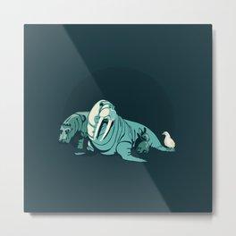 I Am the Walrus - Magical Mystery Tour Album Design Metal Print