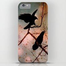 Rainy Day Crows iPhone 6s Plus Slim Case
