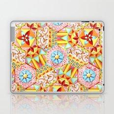 Pink Paisley Hexagons Laptop & iPad Skin