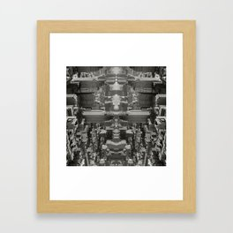 Citymmetry #1 Framed Art Print