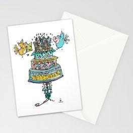 Happy Birthday-3 Stationery Cards