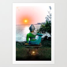 Tranquility  Sunrise Art Print