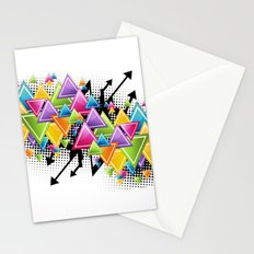 Vector Funk!  Stationery Cards