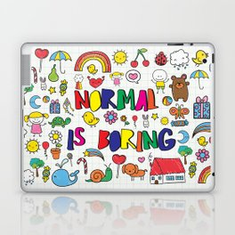 Normal is Boring Laptop & iPad Skin