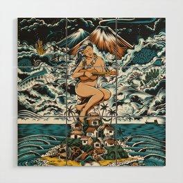 Tropic Wood Wall Art