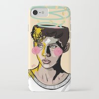 into the wild iPhone & iPod Cases featuring WILD by FoxyFries