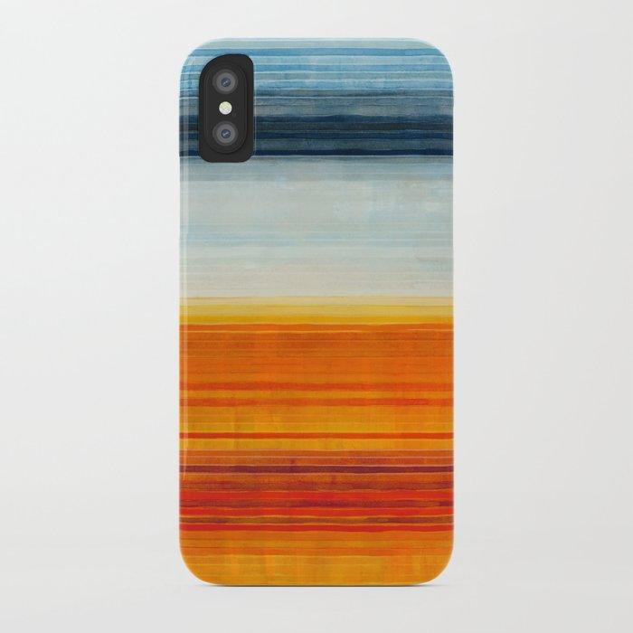 Yellowstone Orange iPhone Case
