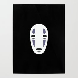 No Face Poster