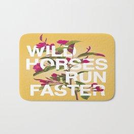 Wild Horses Bath Mat