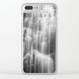 Waterfall in nature of  Costa Rica Clear iPhone Case