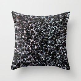 Fields of Black Aeonium 'Zwartkop' Throw Pillow