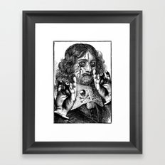 HEAVY METAL I Framed Art Print