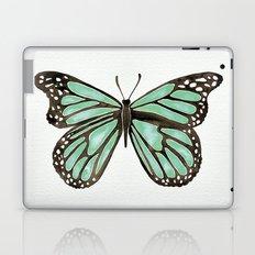 Mint Butterfly Laptop & iPad Skin