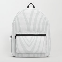 Wood background. White Wooden Slats  #society6 #decor #buyart #artprint Backpack