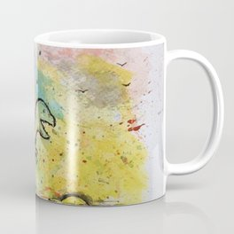 Dinosaur - 4, May 2014 - Tonight's Watercolor Coffee Mug
