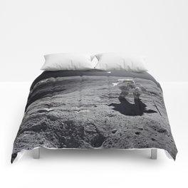 Apollo 16 - Plum Crater Comforters