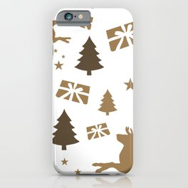 Christmas pattern 1 iPhone Case