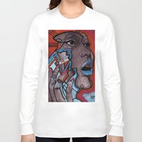 murakami Long Sleeve T-shirts featuring China girl by Joseph Walrave