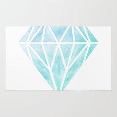 Diamond watercolour Rug